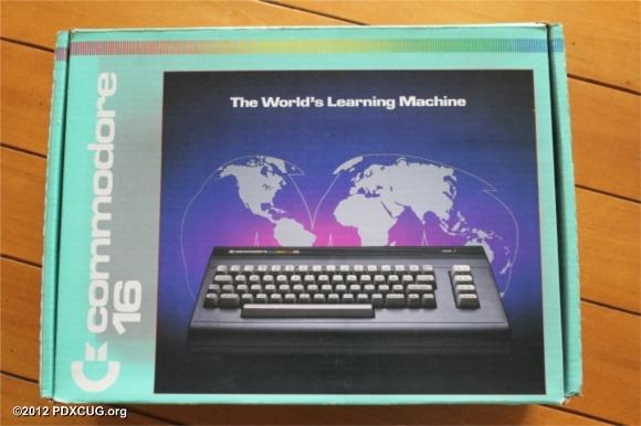 Commodore 16 Computer at PDXCUG.org