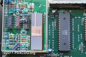 Commodore MAX Machine VIC Chip