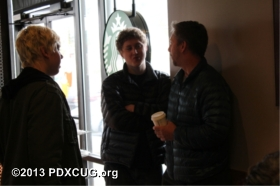 Commodore SX-64 Party at Starbucks